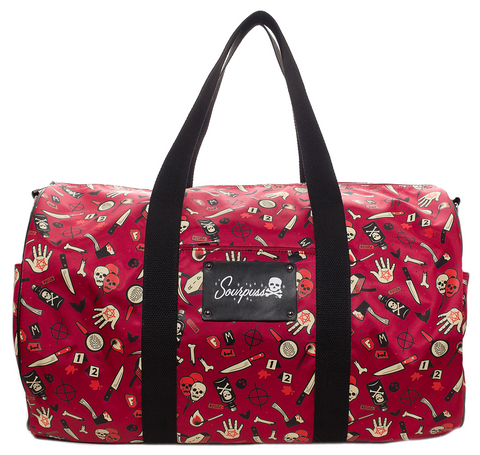 Soupuss True Crime Duffel Bag