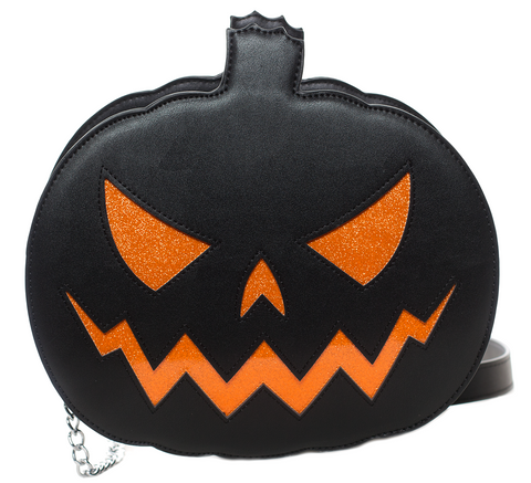 Sourpuss Pumpkin Sparkle Purse