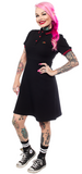 Sourpuss Red Rose Polo Dress