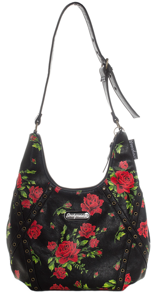Soupuss Rose Garden Hobo Purse