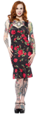 Sourpuss Rose Garden Wiggle Dress