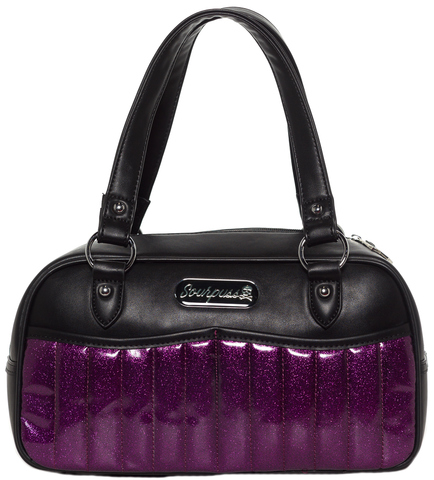 Sourpuss Sabrina Purse Purple