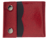 Sourpuss Sabrina Wallet Red Glitter