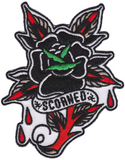 Sourpuss Scorned Rose Patch
