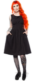Sourpuss Blackest Black Shift Dress