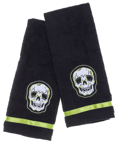 Sourpuss Phantom Bathroom Hand Towel Set