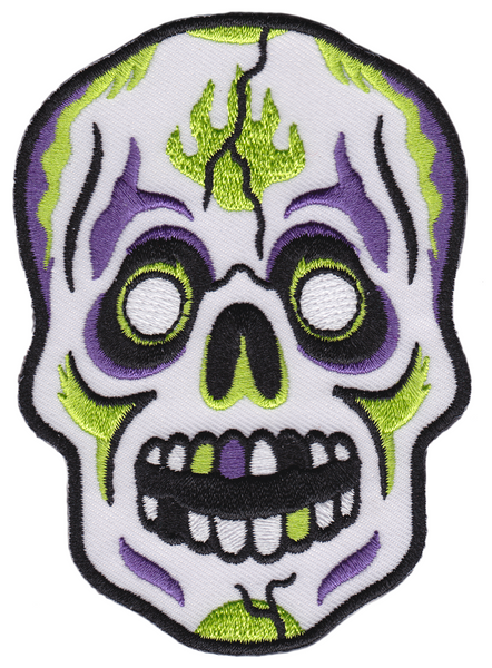 Sourpuss Skull Mask Patch