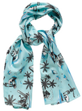 Sourpuss Skull Island Bad Girl Scarf