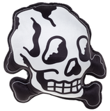 Sourpuss Skull And Bones Pillow