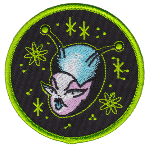 Sourpuss Space Babe Patch