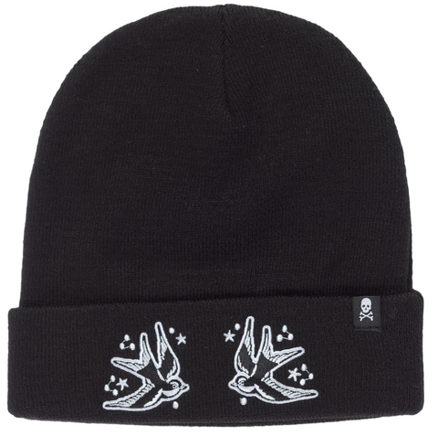 Sourpuss Sparrows Knit Hat
