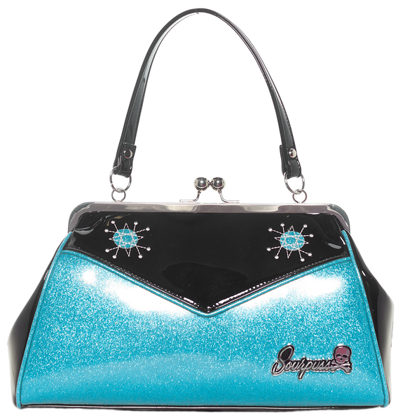 Sourpuss Backseat Baby Purse Light Blue