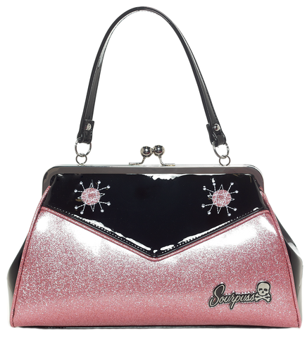 Sourpuss Backseat Baby Purse Light Pink