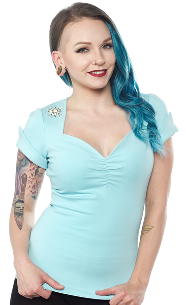 Sourpuss Sputnik Honey Top Blue