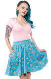Sourpuss Sputnik Honey Top Pink
