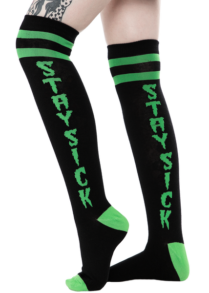Sourpuss Stay Sick Knee Socks