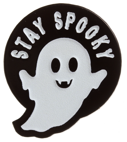 Sourpuss Stay Spooky Enamel Pin
