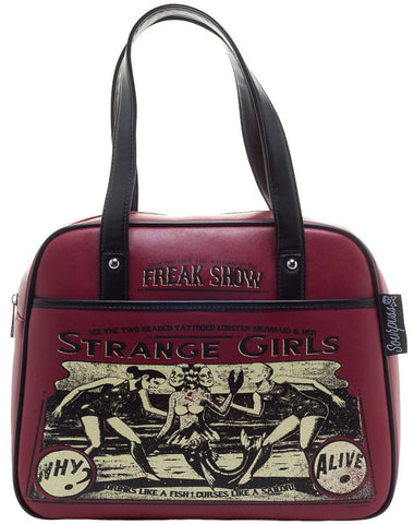 Sourpuss Strange Girls Bowler Purse