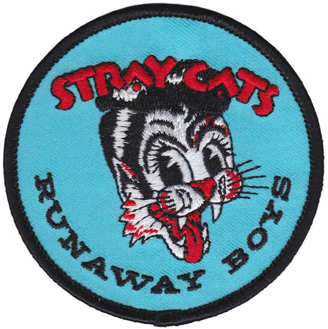 Sourpuss Stray Cats Runaway Patch
