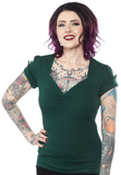 Sourpuss Honey Top Green
