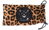 Sourpuss Cat Eye Sunglasses Red