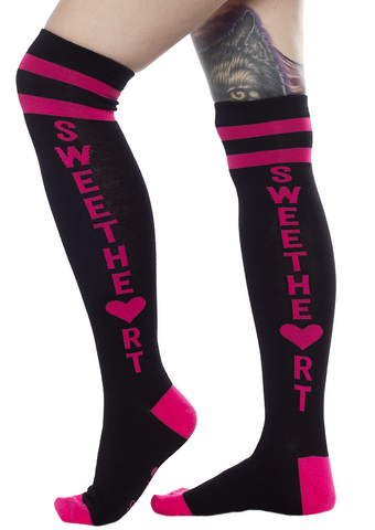 Sourpuss Sweetheart Socks