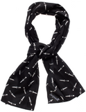 Sourpuss Switchblade Bad Girl Satin Scarf