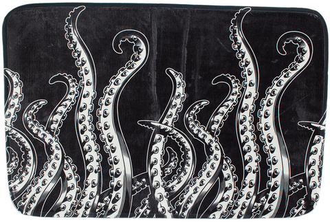Sourpuss Tentacles Bath Mat