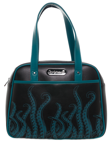 Sourpuss Tentacles Bowler Purse