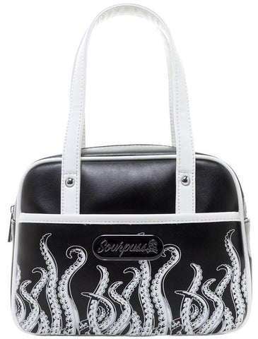 Sourpuss Tentacles Mini Bowler Purse
