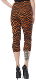 Sourpuss Tiger Peggy Capris