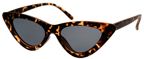 Sourpuss Cat Eye Sunglasses Leopard