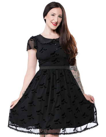 Sourpuss Flutter Shift Dress