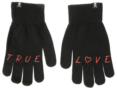 Sourpuss True Love Knit Gloves