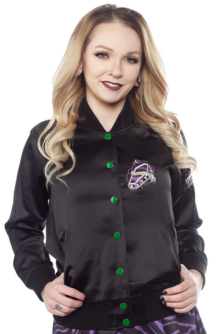 Sourpuss Undead Bomber Jacket