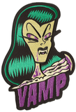 Sourpuss Vamp Oversize Patch