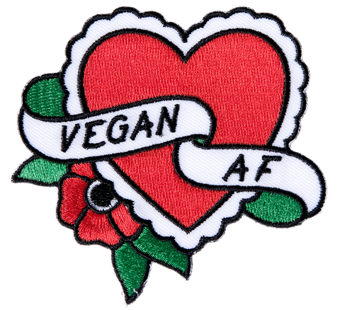 Sourpuss Vegan A.F Patch