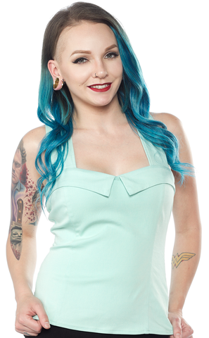 Sourpuss Veronica Top Mint