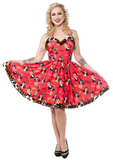 Sourpuss Vintage Vixens Sophia Dress