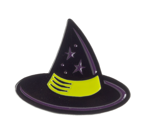 Sourpuss Witch Hat Enamel Pin