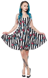 Sourpuss X-Ray Sweets Dress