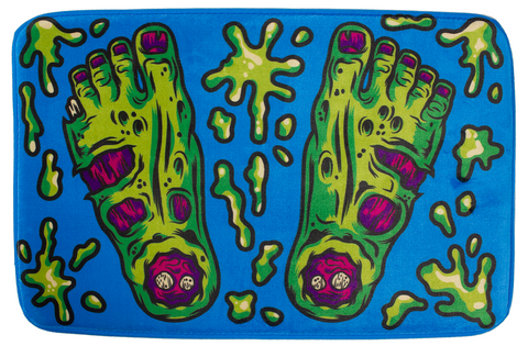 Sourpuss Zombie Feet Bath Mat