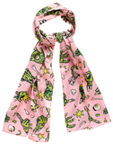 Sourpuss Zombie Hands Bad Girl Scarf