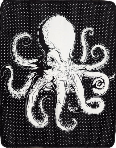 Sourpuss Octopus Blanket