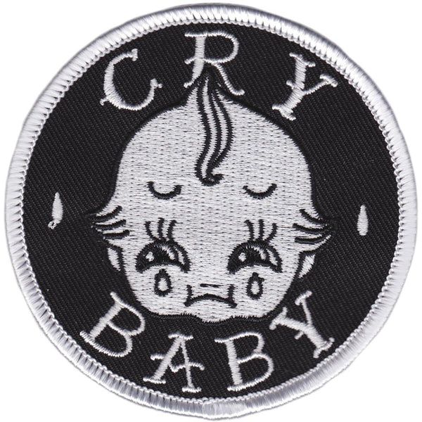 Sourpuss Cry Baby Patch