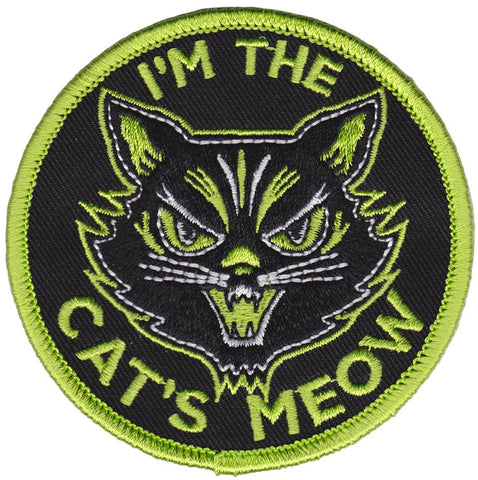 Sourpuss Cats Meow Patch