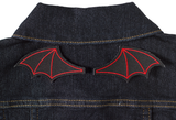 Sourpuss Bat Wings Patch Red Set