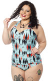 Sourpuss Twinkletoes One Piece Swimsuit