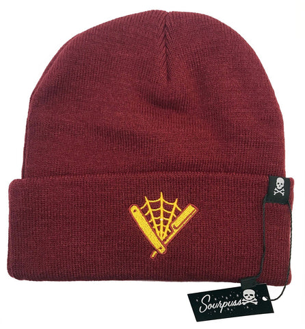 Sourpuss Straight Razor Knit Hat