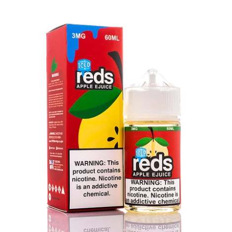 7Daze - Reds Apple Iced 60ml